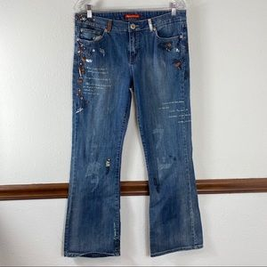 American Exchange graffiti jeans size 11